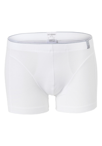 SCHIESSER 95/5 heren boxershort (1-pack), soft band, wit