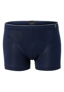 SCHIESSER 95/5 heren boxershort (1-pack), soft band, blauw