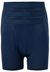 Ten Cate Basics heren boxers, 3-pack, blauw