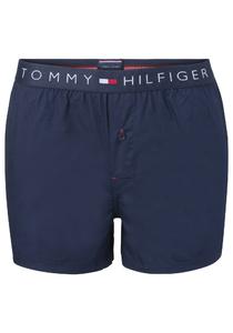 Tommy Hilfiger wijde boxershort, blauw uni