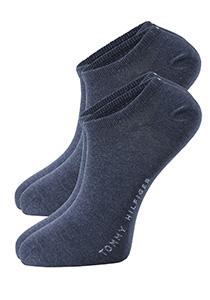 Tommy Hilfiger sneaker sokken (2-pack), jeans blauw