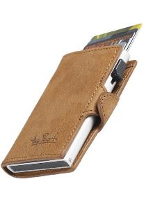 Tony Perotti pasjes RFID portemonnee (6 pasjes) met papiergeldvak, bruin vintage leer