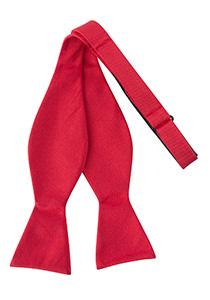 Zelfstrikker zijde, rood