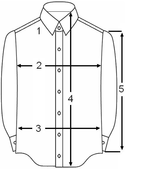 Heren Overhemd Maattabel.Maattabel Eterna Overhemden Alle Maten In Een Handige Tabel