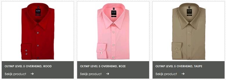 Heren Overhemd Rood.Heren Overhemden Hemdvoorhem Nl Actie 5 Halen 4 Betalen