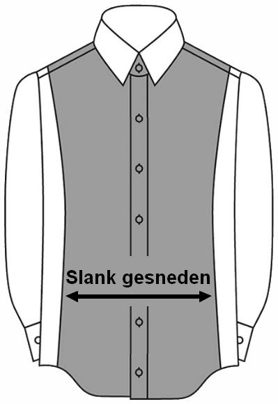 Maattabel OLYMP overhemden alle maten in een handige tabel