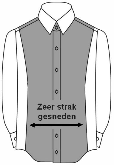 Overhemd Getailleerd Heren.Pasvormen Overhemden Lees Hier De Verschillen