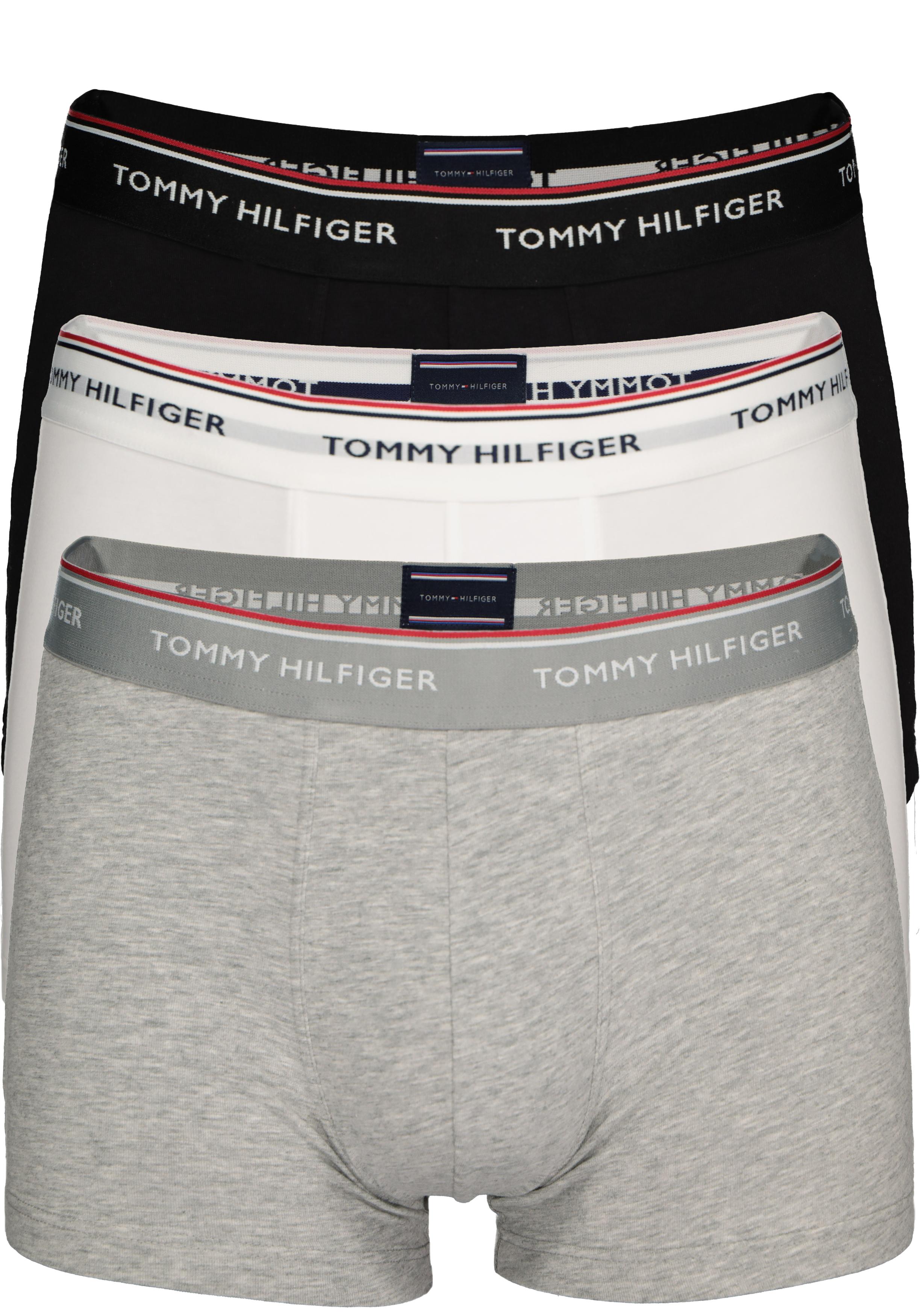 Tommy Hilfiger boxershorts (3 pack), zwart wit en grijs