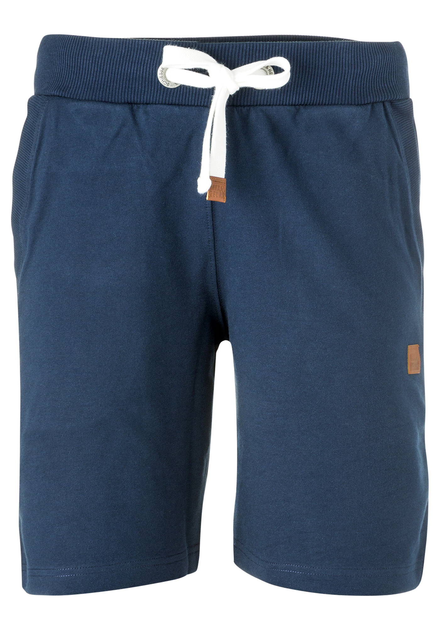 Schiesser heren lounge korte broek, blauw - Gratis verzending