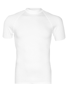 RJ Bodywear, thermo T-shirt, wit