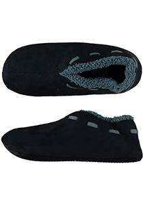 Pantoffels heren, blauwe Spaanse slof