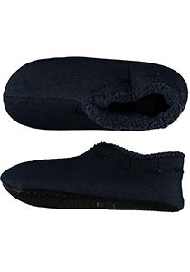 Pantoffels heren, jeans blauwe Spaanse slof