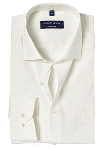 Casa Moda Comfort Fit overhemd, mouwlengte 72, beige