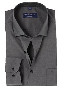Casa Moda Comfort Fit overhemd, donker grijs