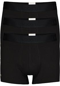 Lacoste heren boxershorts (3-pack), zwart