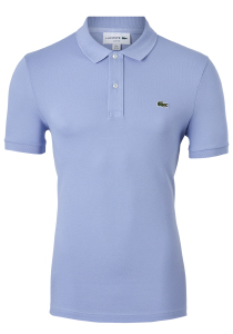 Lacoste Slim Fit polo, lichtpaars, Purpy