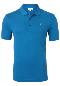 Lacoste Sport polo Regular Fit, blauw/groen, Mariniere (ultra lightweight knit)