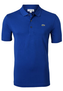 Lacoste Sport polo Regular Fit, blauw/paars, Cosmique (ultra lightweight knit)