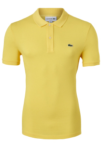 Lacoste Slim Fit polo, Afrikaans geel, Daba