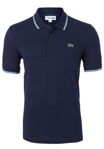 Lacoste Sport polo Regular Fit, navy blauw, ultra lightweight knit
