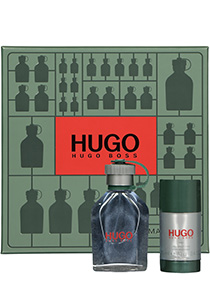 Heren cadeauset: Hugo Boss Hugo Man Eau de Toilette 75ml + deodorant stick 75ml