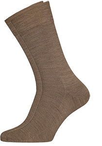 Falke Sensitive Berlin herensokken, beige