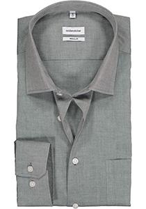 Seidensticker Regular Fit overhemd, grijs