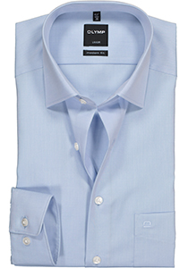OLYMP Modern Fit overhemd, licht blauw