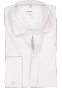OLYMP Comfort Fit Smoking overhemd, gladde stof (wing)