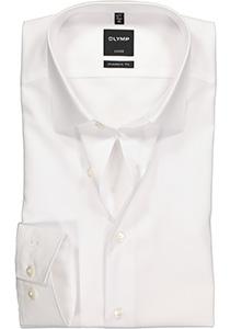 OLYMP Modern Fit overhemd, wit (zonder borstzak)