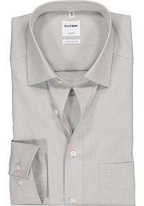 OLYMP Comfort Fit overhemd, grijs