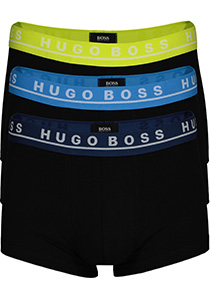 Hugo Boss trunk (3-pack), gekleurde tailleband