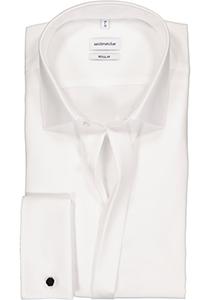 Seidensticker Regular Fit smoking hemd Kent kraag, wit