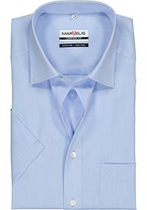 MARVELIS Comfort Fit, overhemd korte mouw, licht blauw