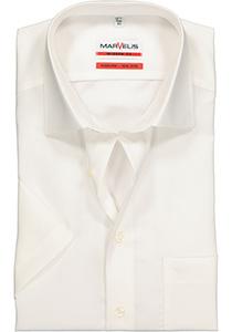 MARVELIS Modern Fit, overhemd korte mouw, beige