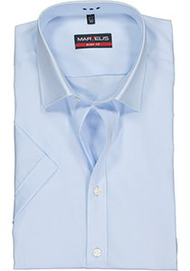 MARVELIS Body Fit overhemd korte mouwen, lichtblauw