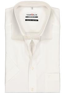 MARVELIS Comfort Fit, overhemd korte mouw, beige