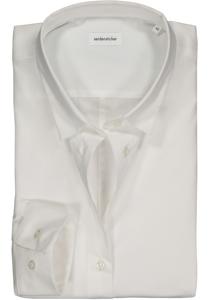 Seidensticker dames blouse Slim Fit stretch, wit