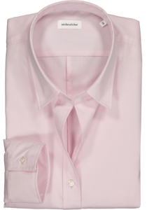 Seidensticker dames blouse Slim Fit, roze