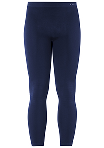 Falke maximum warm, thermo broek lang, blauw