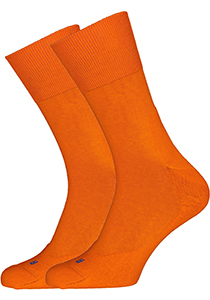 Falke Run Unisex sokken, bright orange