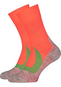 FALKE RU4 Cool heren hardloopsokken, neon oranje