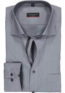 ETERNA Modern Fit overhemd, grijs (contrast)