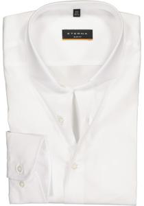 Eterna Slim Fit overhemd, wit stretch