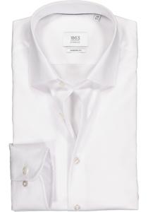 ETERNA 1863 Modern Fit overhemd, wit twill (premium)