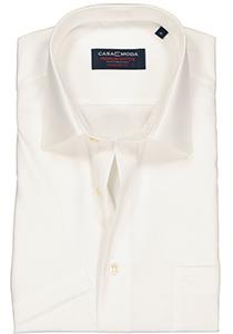 Casa Moda Comfort Fit, overhemd korte mouw, beige