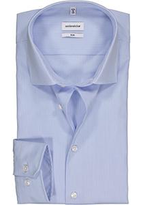 Seidensticker Slim Fit overhemd, lichtblauw gestreept