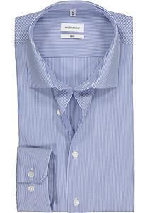 Seidensticker Slim Fit overhemd, blauw gestreept