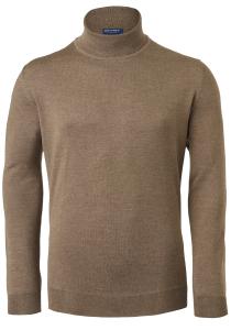 OLYMP heren coltrui wol, bruin