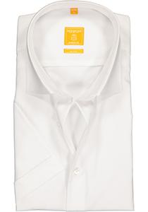 Redmond Modern Fit overhemd, korte mouw, wit